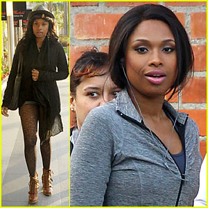 Jennifer Hudson: Weight Watchers Commercial Shoot!