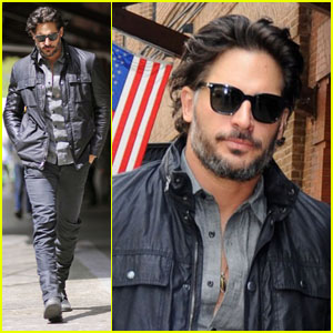 Joe Manganiello Walks the Walk