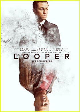 Joseph Gordon-Levitt &#038; Bruce Willis: 'Looper' Poster!