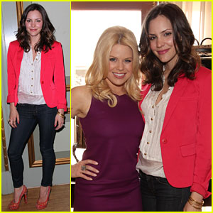 Katharine McPhee & Megan Hilty: 'Smash' at NBC Press Day!