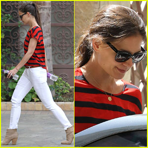 Katie Holmes: Dance Class In Hollywood