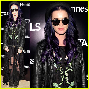 Katy Perry: 'Details' & Hennessy Party at Coachella!