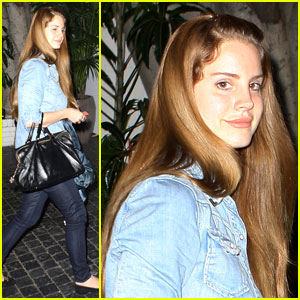 Lana Del Rey: Chateau Marmont Dinner Date