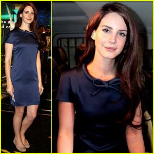 Lana Del Rey: Italian Television Appearance!