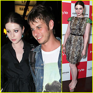 Michelle Trachtenberg & Mark Foster: Troubadour Night Out!