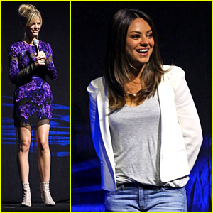 Mila Kunis &#038; Brooklyn Decker: Universal at CinemaCon!
