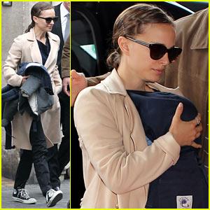 Natalie Portman & Aleph: Au Revoir, Paris!