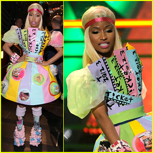 Nicki Minaj - Kids' Choice Awards 2012