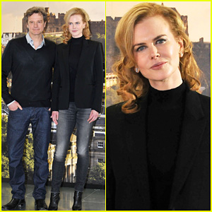 Nicole Kidman: 'The Railway Man' Edinburgh Photo Call!