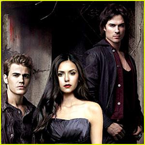 Nina Dobrev & Ian Somerhalder: New 'Vampire Diaries' Ad!