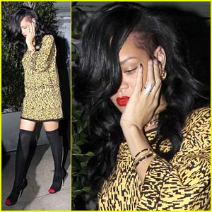 Rihanna: Giorgio Baldi Chic!