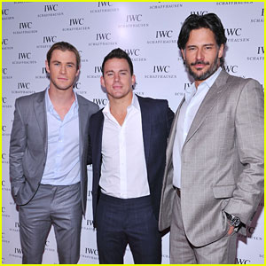 Chris Hemsworth & Channing Tatum: IWC Flagship Grand Opening!