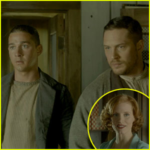 Tom Hardy & Shia LaBeouf: 'Lawless' Trailer!