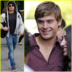 Zac Efron: Seeing 'Lucky One' with My Mom Had Me Squirming!