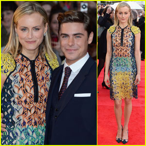Zac Efron & Taylor Schilling: 'Lucky One' London Premiere!