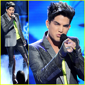 Adam Lambert: 'Never Close Our Eyes' on 'American Idol'!