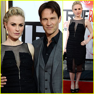 Anna Paquin & Stephen Moyer: 'True Blood' Premiere!
