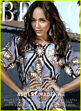 Ashley Madekwe Covers 'Bello' Magazine's Entertainment Section!