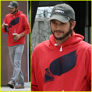 Ashton Kutcher: Coffee Shop Stop