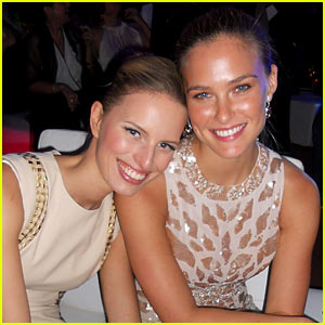 Bar Refaeli & Karolina Kurkova: Pronovias Show After Party!