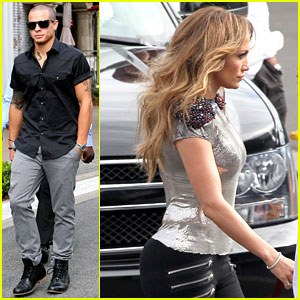 Casper Smart: Jennifer Lopez's Tour Choreographer!