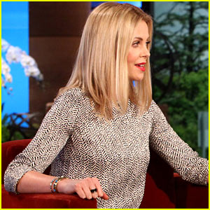 Charlize Theron Talks Adoption on 'Ellen'