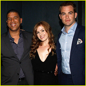 Chris Pine & Isla Fisher: 'Rise of the Guardians' Q&A!