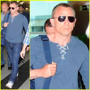 Daniel Craig: Turkey Takeoff