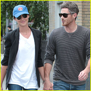 Dave & Odette Annable Hold Hands in Soho