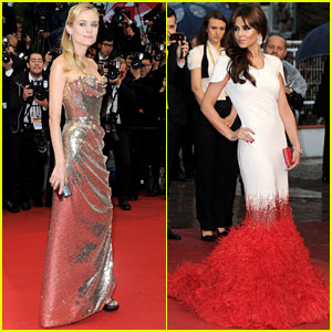 Diane Kruger & Cheryl Cole: 'Amour' Cannes Premiere!