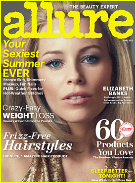 Elizabeth Banks Covers 'Allure' June 2012