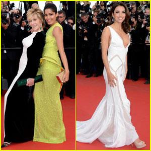 Freida Pinto & Jane Fonda: 'Rust & Bone' Cannes Premiere!