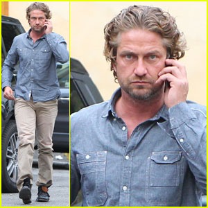 Should Gerard Butler Co-Star with Lindsay Lohan in 'Liz & Dick'?