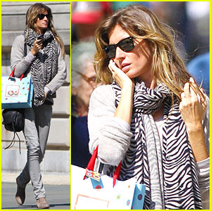 Gisele Bundchen Takes Over The Big Apple!