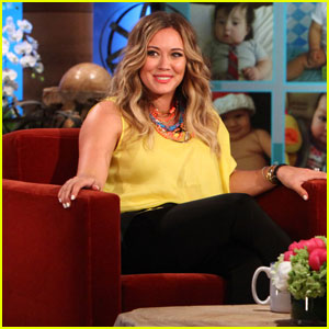 Hilary Duff: Labor Was 'Very Easy'