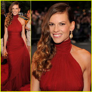 Hilary Swank - Met Ball 2012
