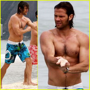 Jared Padalecki: Shirtless in Rio!