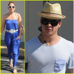 Jennifer Lopez & Casper Smart: Zara Shoppers