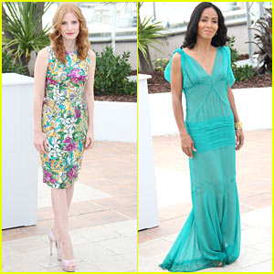 Jessica Chastain & Jada Pinkett Smith: 'Madagascar 3' Photo Call!