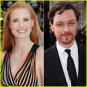 Jessica Chastain & James McAvoy: 'Eleanor Rigby' Co-Stars!