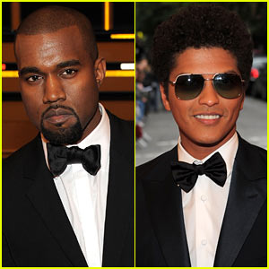 Kanye West & Bruno Mars - Met Ball 2012