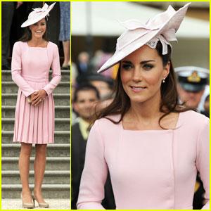 Duchess Kate: Buckingham Palace Garden Tea Party!