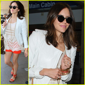 Katharine McPhee: Sister's Wedding in L.A.!
