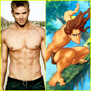 Kellan Lutz: Tarzan in Motion Capture Animated Film!