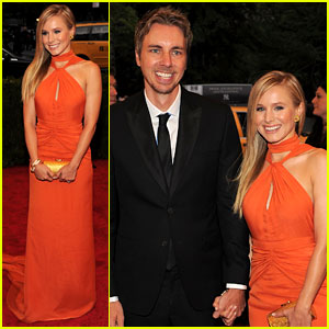 Kristen Bell: Met Ball 2012 with Dax Shepard!