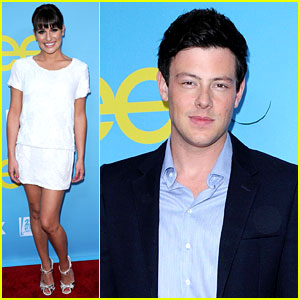 Lea Michele & Cory Monteith: 'Glee' Academy Event!