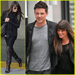 Lea Michele: Vancouver Visit with Cory Monteith
