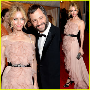 Leslie Mann: Met Ball 2012 with Judd Apatow!