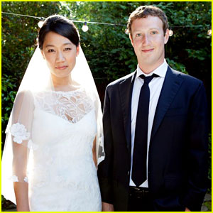 Mark Zuckerberg: Married to Priscilla Chan!