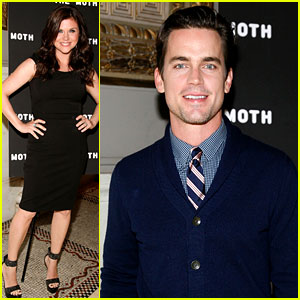 Matt Bomer: Moth Ball with Tiffani Thiessen!